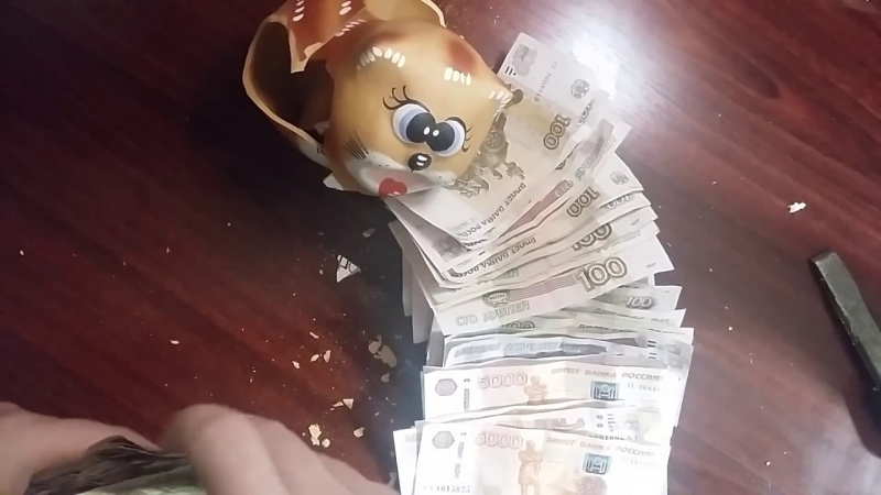 [Money Box] Money box копил на БМВ открытие копилки