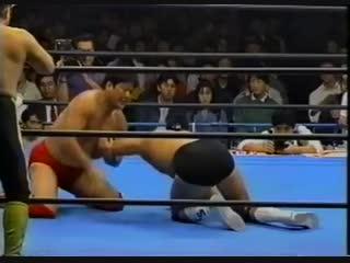 1993.11.13 - Giant Baba/Toshiaki Kawada/Akira Taue vs. Stan Hansen/Ted Dibiase/Tracy Smothers [CLIPPED]