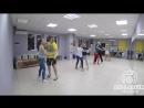 Bachata. На занятии в школе танцев Palladium (12.07.2018)