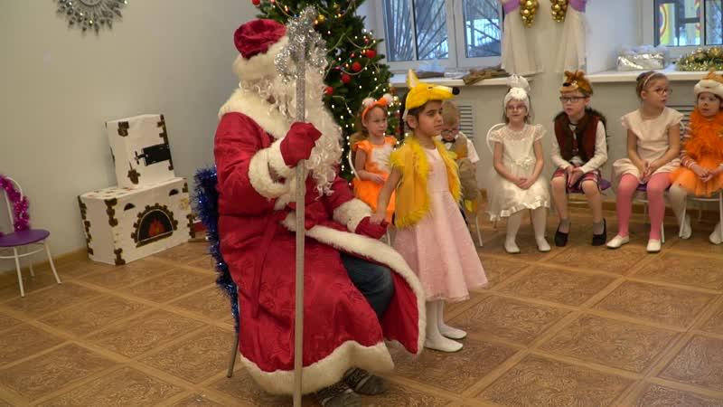 Новый год в детском саду №53 для детей с патологией зрения (27.12.18)