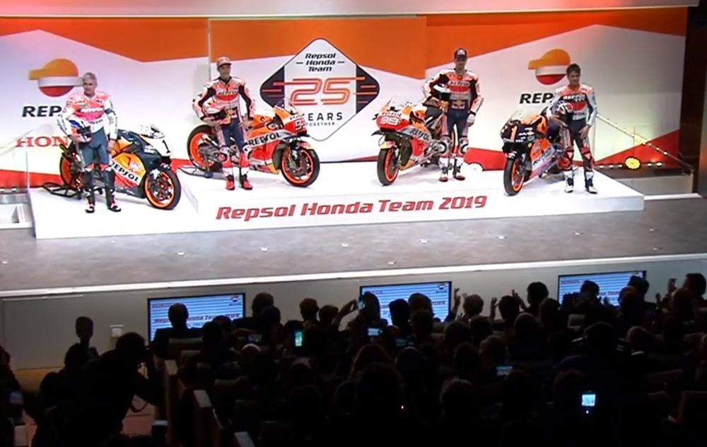 Презентация команды Repsol Honda 2019