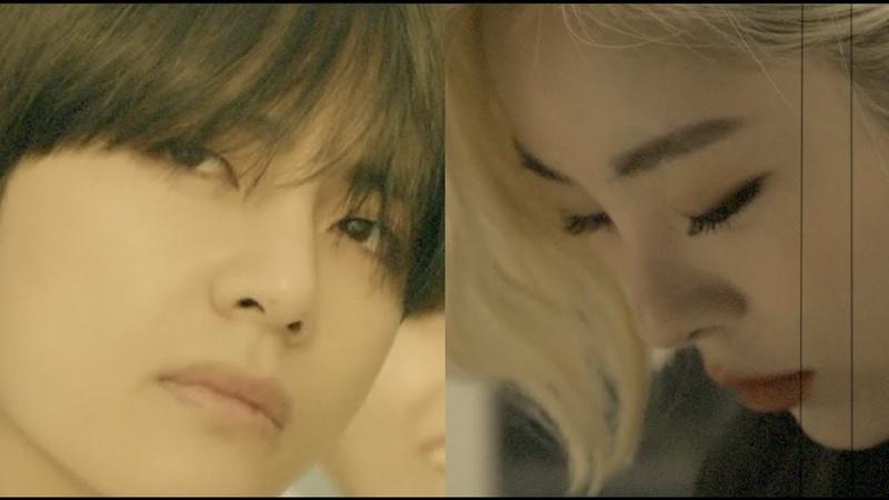 BTS and Mamamoo V Wheein FMV