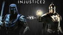 Injustice 2 Саб Зиро против Доктора Фэйта Intros Clashes rus
