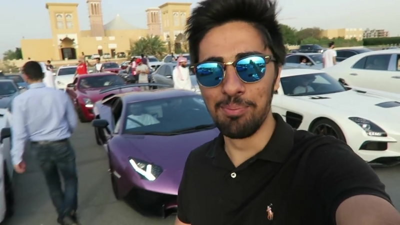 Rich Kids of the Middle East - The Most Expensive Car Event in the World