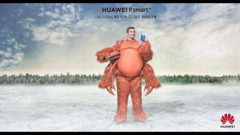 Javier Fernández se disfraza de... ¿cangrejo yeti? | Huawei P Smart