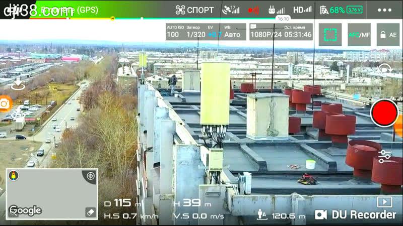 Тест Радар-ПРО у мощного ретранслятора сотовой связи.