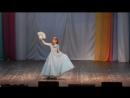 Лиза Калинченко в шоу-номере Золушка