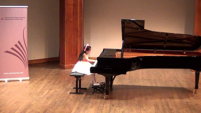 Harmony Zhu (age 7) - CMC National 1st Place, Chopin Waltz in C sharp Minor Op.64 No.2, 2nd Round