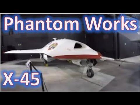 Boeing Phantom Works X-45A