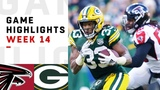 Falcons vs. Packers Week 14 Highlights NFL 2018