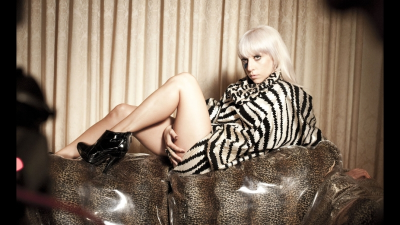 Lady Gaga - Video - Just Dance - Behind The Scenes 576p