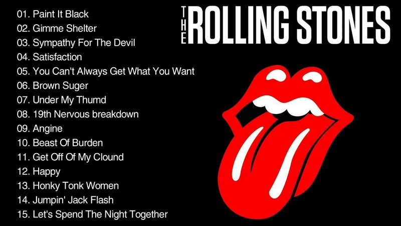 The Rolling Stones Greatest Hits Full Album - Best Songs of The Rolling Stones