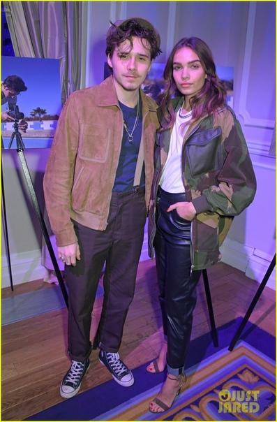 Бруклин Бекхэм посетил премию в Лондоне со своей новой девушкой Ханой Кросс