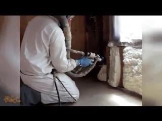 Современные технологии утепления дома!