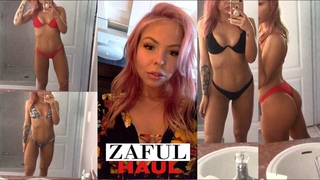 ZAFUL BIKINI TRY ON HAUL 2018 - HONEST REVIEW - ASMR