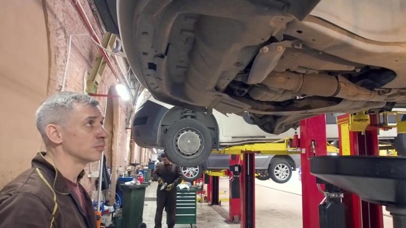 Nissan Murano замена масла вариатора
