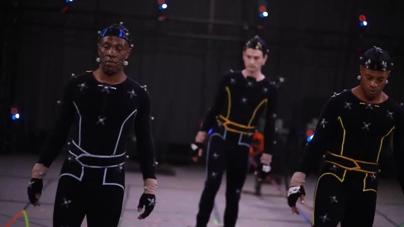 Neil Newbon Bryan Dechart Detroit Become Human Motion Capture Video