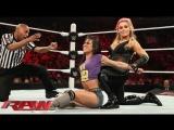 ЭйДжей Ли, Пейдж и Наоми против Натальи и сестер Белл I 30.03.15 RAW