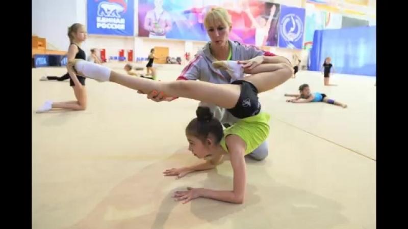 Тренировка ЗТР Зотовой Э Я Художественная гимнастика СК Буртасы Пенза