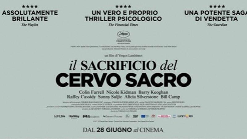 IL SACRIFICIO DEL CERVO SACRO (2017) Italiano HD online