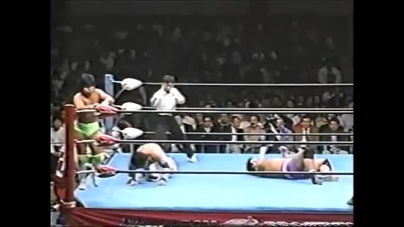 1995.04.15 - Masao Inoue/Jun Izumida vs. Tsuyoshi Kikuchi/Satoru Asako [JIP]
