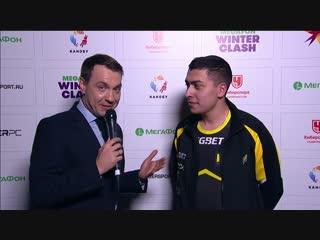 Интервью с Na`Vi.MagicaL после победы над PSG.LGD