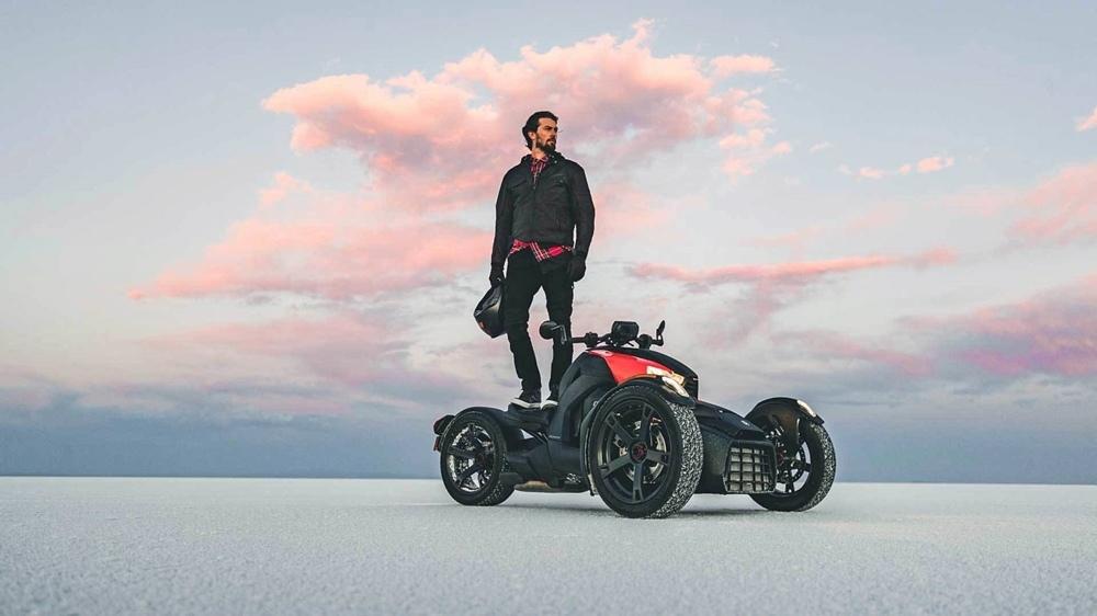 Новый трицикл Can-Am Ryker 2019