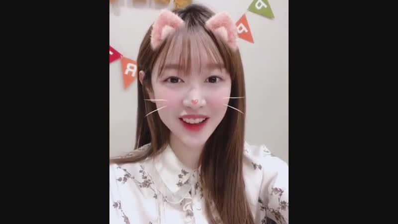 VIDEO 190101 V LIVE 🎂HAPPY MIMI DAY🎂 ᆞ 귀요미미의 깜짝 생일파티를 마치고 avi 새해 복 많이 받아요 단짝❣ 2019년도 미미와 함께 해요💖 ᆞ 구구단 gugudan 미미 MIMI 반짝반