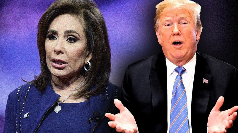After Fox Replaces Judge Jeanine – Trump D-rops His Presidential Gavel