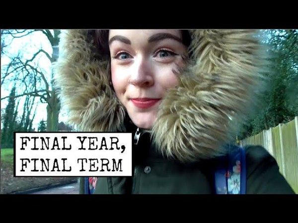 UNI VLOG 1: FINAL YEAR AT UNI FUTURE PLANS