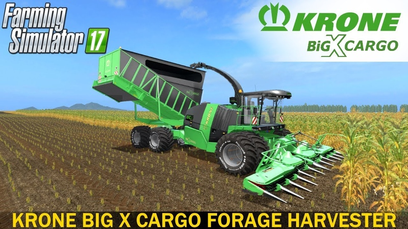 Farming Simulator 2017 KRONE BIG X CARGO FORAGE HARVESTER
