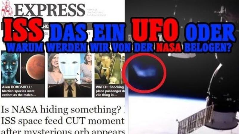 ISS das ein UFO oder warum werden wir von der NASA belogen►NWO Alien Agenda► Globuskritiker Cae sar