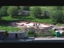 Строительство нулевого цикла Храма на Гамбургской площади. С_Пб. Купчино
