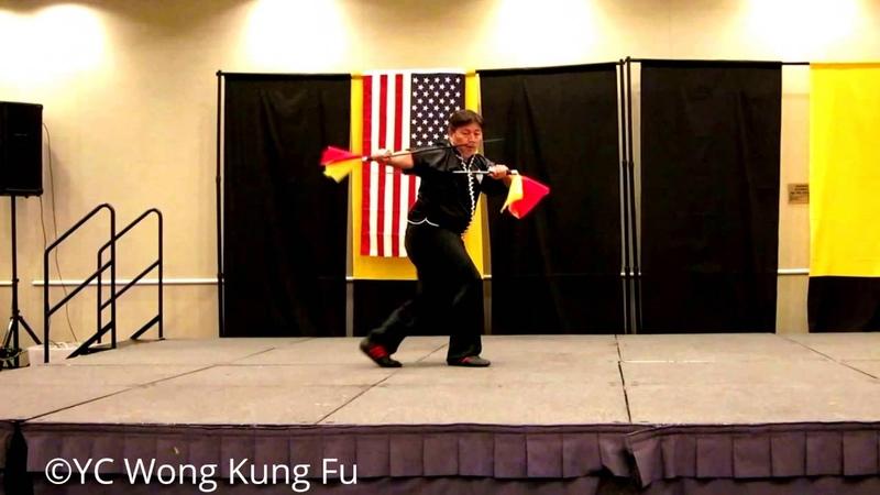 Plum Flower Double Dragon Swords 梅花雙龍刀 Mui Fa Seung Loong Do performed by Hung Kuen Sifu Lester Wong