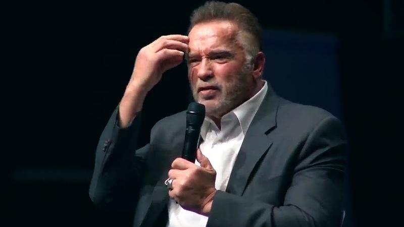 Arnold Schwarzenegger 2018 The speech that broke the internet Most Inspiring ever