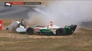 IndyCar Series 2018. FP1 Grand Prix of Portland. Alfonso Celis Jr. Spins