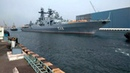 Russian Navy ship Varyag arrives at Visakhapatnam for Indra Navy bilateral exercise