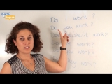 Уроки Английского с носителями (Грамматика Present Simple) Уровень A1-A2 Elementary