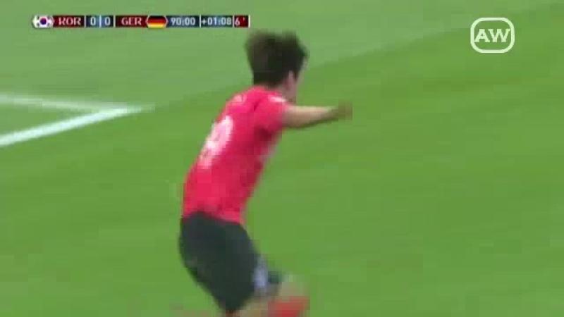 Corea Del Sur 2-0 Alemania (Grupo F - Fecha 3 - Mundial Rusia 2018)