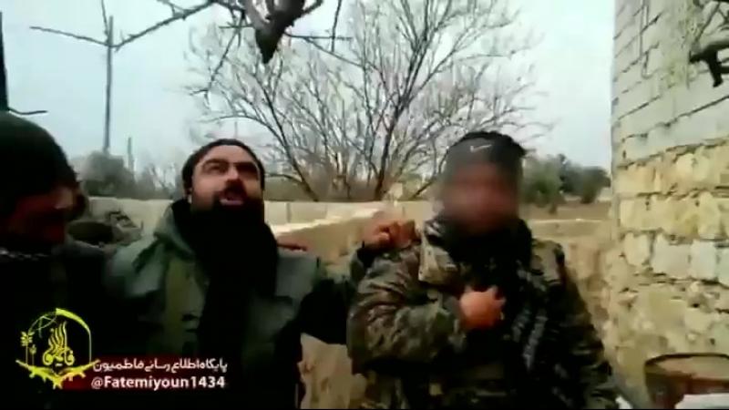 Бойцы КСИР и Фатимиюн перед операцией в Алеппо.