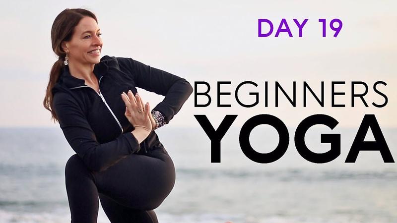 Beginners Yoga Flow (20 min Detox) Day 19 | Fightmaster Yoga Videos