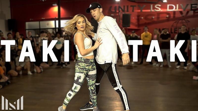 TAKI TAKI - DJ Snake, Cardi B, Ozuna Selena Gomez Dance | Matt Steffanina Chachi