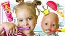 Кукла Беби Бон и Лера КАК МАМА в лучших наших видео Для Детей for kids First Class