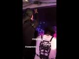 Night Lovell & ASAP Rocky & Joey Badass party