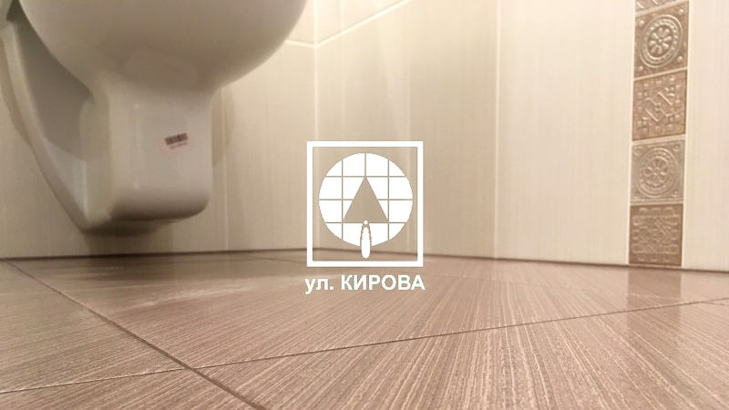 Ремонт ванной комнаты под ключ в Омске - ул.Кирова.