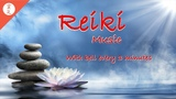 Reiki Music, Sound Healing, Positive Vibes, With Bell Every 3 Minutes