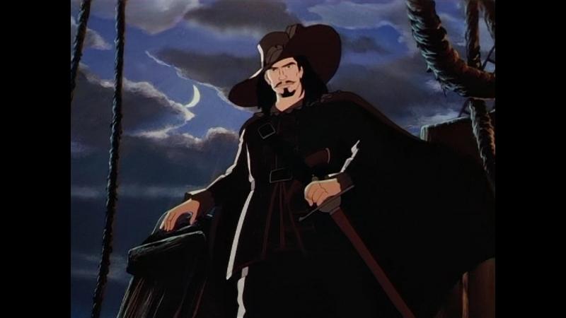 Чёрный пират Человек в черном 1 серия