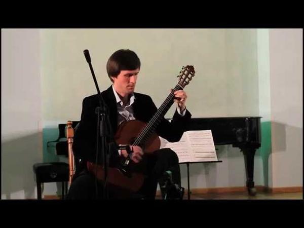 Galina Gorelova. Two winter estampes(2004). Pavel Kuhta - guitar