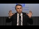 Aplaudido várias vezes, Bolsonaro dá show em sabatina da Confederação Nacional da Indústria (CNI)