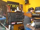Analogue Synthesizer goes Berlin Old school GRP A8 Minimoog Moog Prodigy friends
